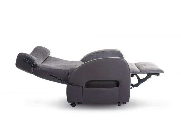 Saljol Club2 Aufsteh- und Schlafsessel elektrisch mit Fernbedienung, mit Sitztiefeneinstellung