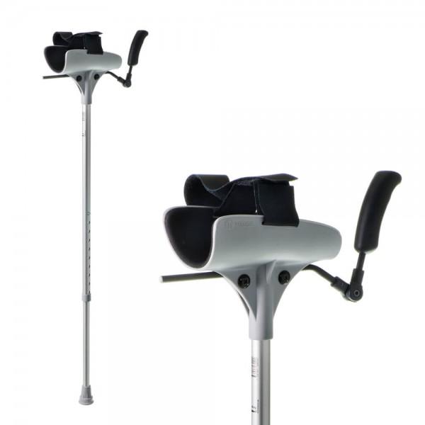 Arthritis-Gehstütze Meyra, Gehhilfe mit Armauflage, bis 140 kg belastbar