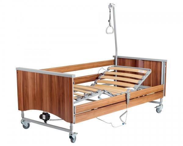 Schwerlast-Pflegebett Hermann Bock Domiflex 185 XL, elektrisch, bis 185 kg belastbar