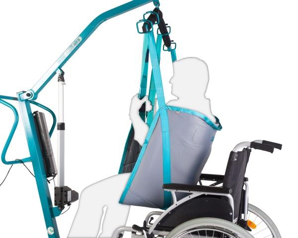Standardgurt AKS für Patientenlifter, Hebegurt, bis 250 kg belastbar