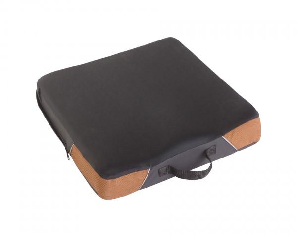 Antidekubitus-Sitzkissen SYSTAM® VISCOFLEX® + mit Jersey Bezug