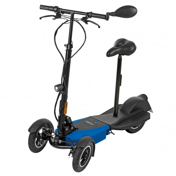 Elektro-Roller Scuddy, 20 km/h, Reisescooter, E Scooter faltbar