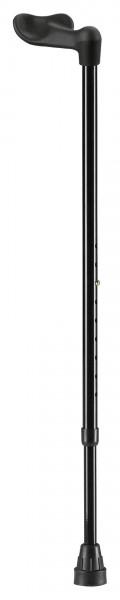 XL Gehstock mit Fischergriff Ossenberg, Leichtgewicht Handstock, bis 160 kg belastbar