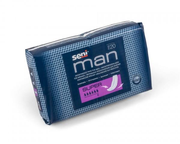 Inkontinenzeinlagen Seni Man Super, 120 Stück, für Herren