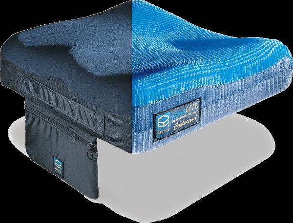 Supracor STIMULITE Contoured Antidekubitussitzkissen, für erhöhtes Dekubitusrisiko, 130 kg belastbar