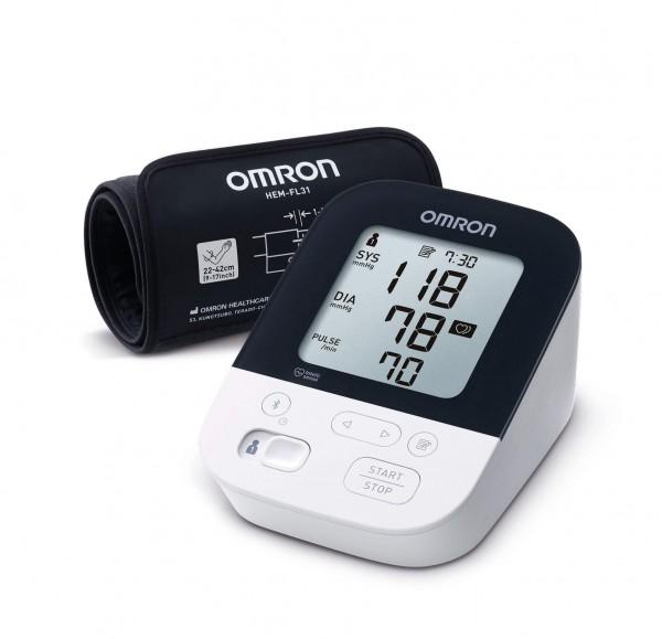 Oberarm-Blutdruckmessgerät OMRON M400 Intelli IT mit Oberarmmanschette, bis 42 cm Umfang