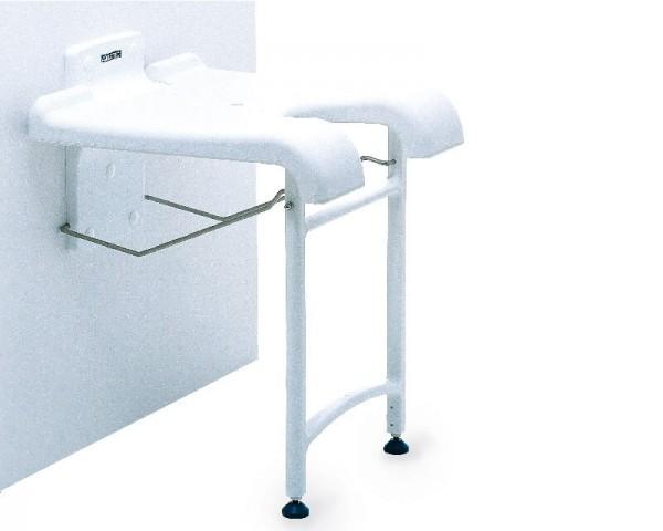 Duschklappsitz Aquatec Sansibar, klappbar, bis 130 kg belastbar