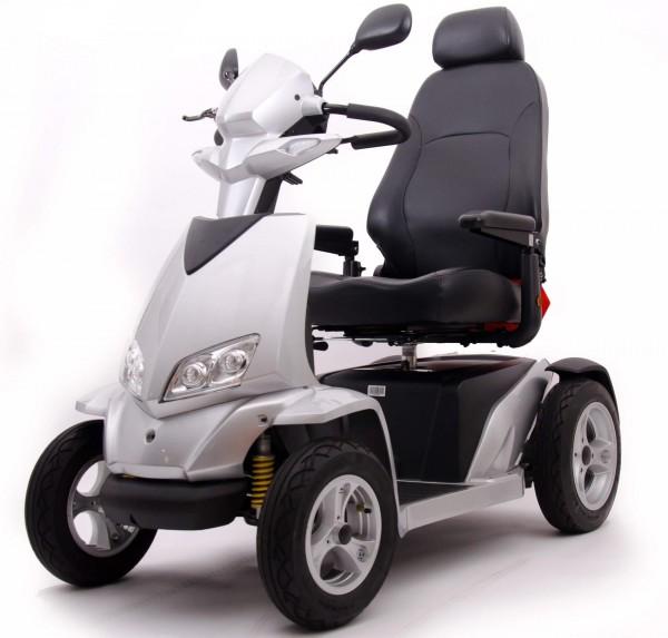 Elektromobil Meritis Westerland, 15 km/h, bis zu 60 km Reichweite, bis 180 kg Belastbarkeit