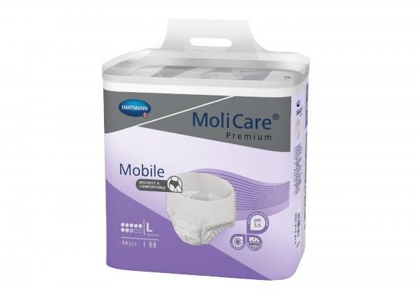 MoliCare Premium Mobile, 8 Tropfen, Hartmann Inkontinenzhosen für Frauen und Männer