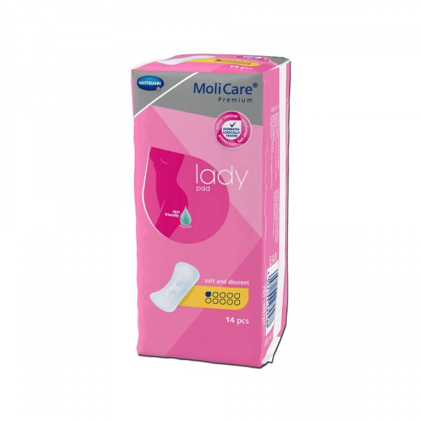 MoliCare Premium lady pad, 1 Tropfen, Hartmann Inkontinenzeinlagen für Frauen