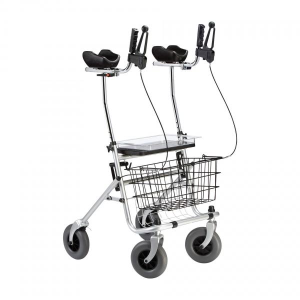 Ergo Arthritis Rollator mit Armauflagen Dietz, klappbar, bis 120 kg belastbar