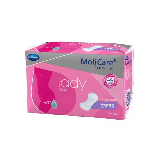 MoliCare Premium lady pad, 4,5 Tropfen, Hartmann Inkontinenzeinlagen für Frauen