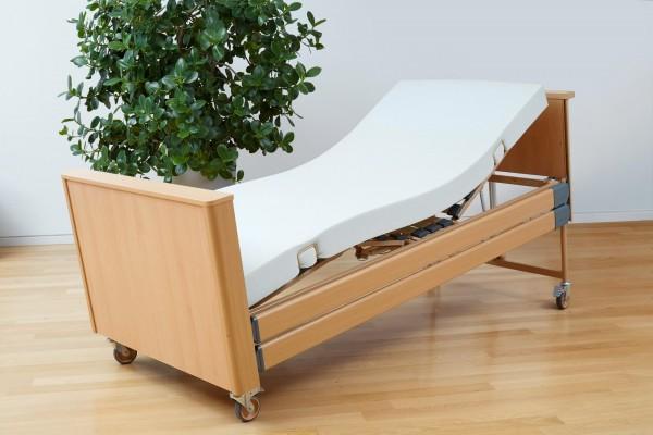 Pflegebett-Matratze Basic-fit Burmeier, 90x200, PU-Bezug