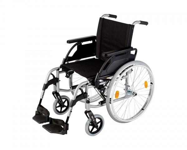Rollstuhl Standard Sunrise Medical Breezy UniX², Faltrollstuhl, bis 125 kg belastbar