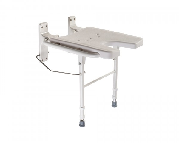 Duschklappsitz Drive Medical DKS 130, klappbar, bis 130 kg belastbar