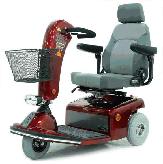 Elektromobil Shoprider Ameland, 6 km/h, 3-Rad Elektroscooter