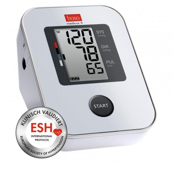 XL Oberarm-Blutdruckmessgerät boso medicus X, für Armumfänge 32-48 cm