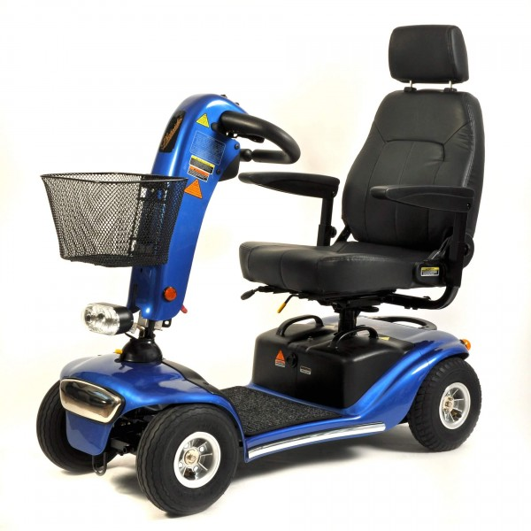 Miniscooter Shoprider Helgoland, 6 km/h, Reisescooter, Elektromobil zerlegbar
