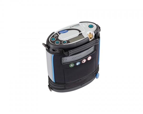 Invacare Platinum Mobile Sauerstoffkonzentrator, tragbar mit Autoadapter