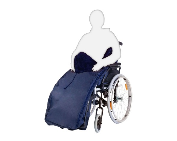 Schlupfsack Webpelz Orgaterm Senior für Rollstuhl