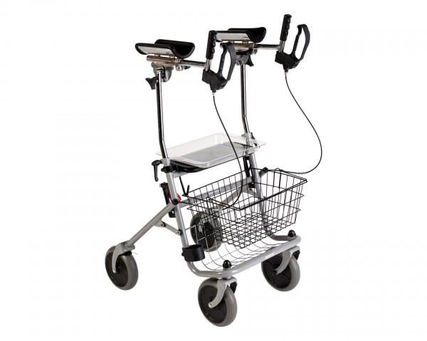 Arthritisrollator Drive Medical Cristallo², faltbar, bis 120 kg belastbar