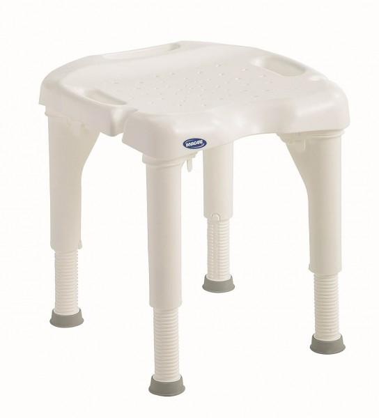 Aquatec Duschhocker I-Fit 9780E mitr oder ohne Rückenlehne und ergonomischer Sitzfläche, bis 180 kg