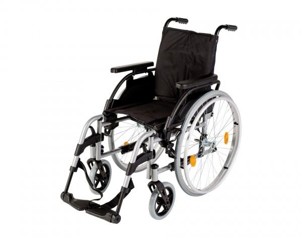 Leichtgewichtrollstuhl Sunrise Medical Breezy PariX², Faltrollstuhl, bis 125 kg belastbar