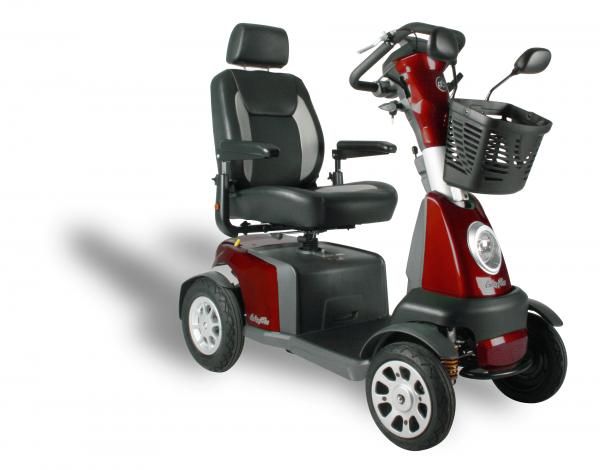 Elektromobil Excell Anholt 15 km/h, bis 45 km Reichweite, 160 kg Belastbarkeit
