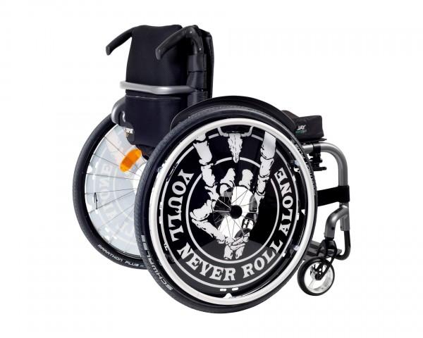 Wacken W:O:A Speichenschutz für Rollstuhl, 1 Paar