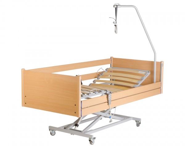 Pflegebett Hermann Bock Belluno niedrig, elektrisch, bis 165 kg