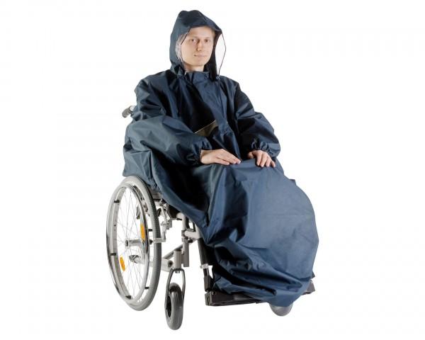 Regencape Senior Orgaterm mit Arm, Regenschutz für Rollstuhlfahrer