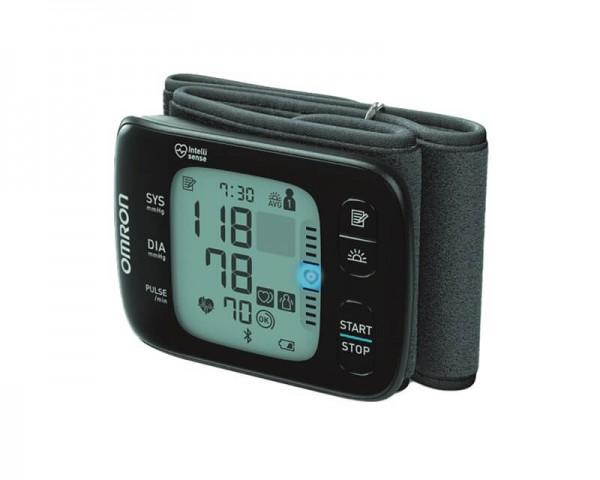 Handgelenk-Blutdruckmessgerä OMRON RS7 Intelli IT mit Handgelenkmanschette, bis 21,5 cm Umfang