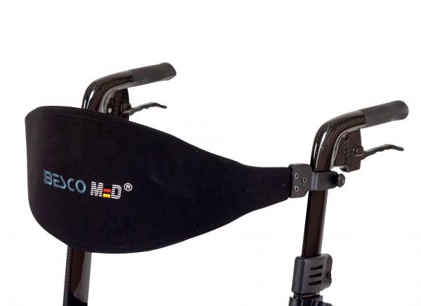 Gepolsterter Rückengurt für Rollator Spring, Carbon, Besco Medical