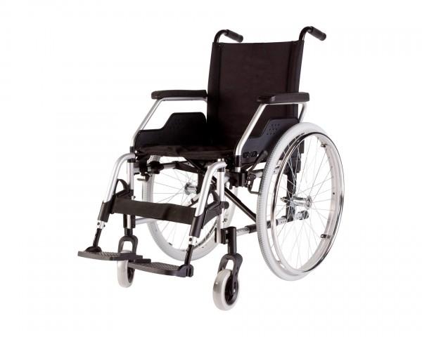 Leichtgewichtrollstuhl Meyra Eurochair 1.750, faltbar, bis 130 kg belastbar