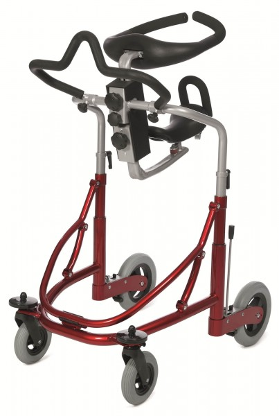 Gehhilfe Easy-Walker Medium mit Thoraxring, rot, bis 100 kg belastbar