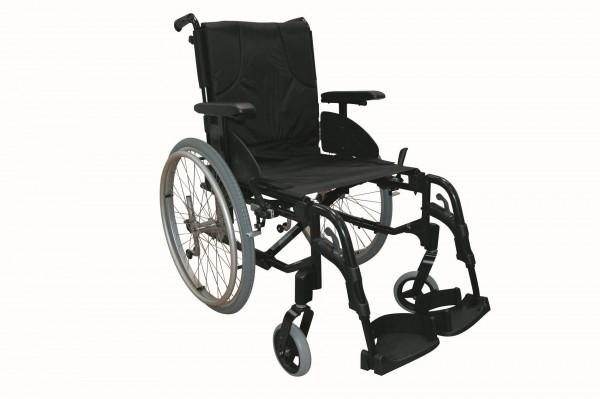 Leichtgewicht Rollstuhl Action 3 NG Invacare, Faltrollstuhl, bis 125 kg belastbar