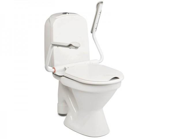 Supporter II Armlehnen für die Toilette Etac, mit Sitzbrille, Deckel, bis 150 kg belastbar