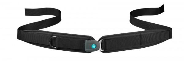Bodypoint 2-Punkt-Hüftgurt für Rollstuhl, gepolstert mit Druckknopf Verschluss, Sicherheitsgurt