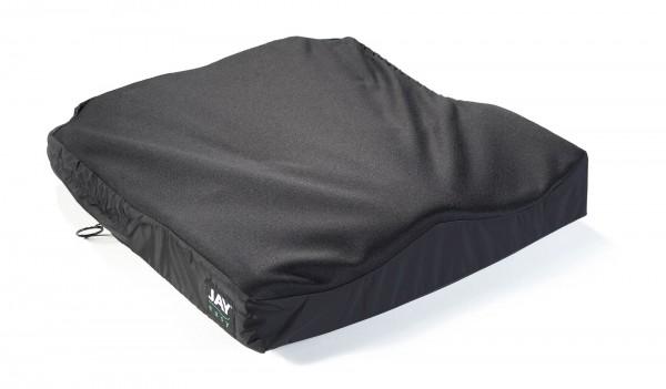JAY Balance Kissen mit Fluid-Einlage, Antidekubitus-Rollstuhlkissen mit Positionierungs-Set