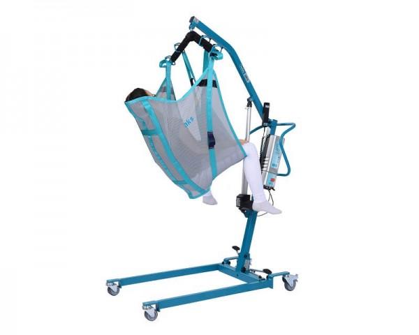 Komfortgurt mit Kopfstütze AKS für Patientenlifter, Hebegurt, bis 250 kg belastbar