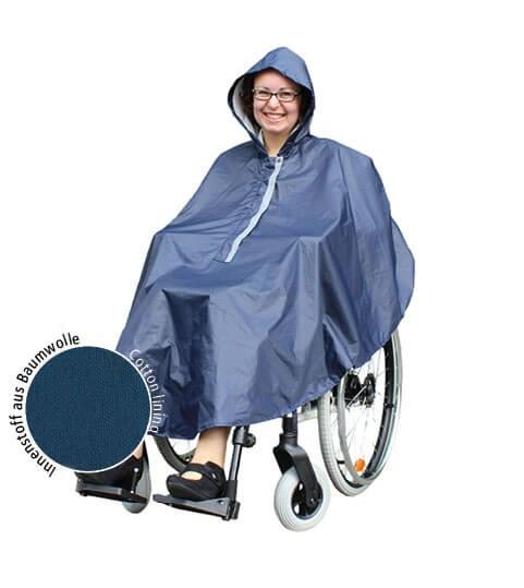 Rolko rainPRO Regenponscho, Regencape, Rollstuhl-Regenbekleidung