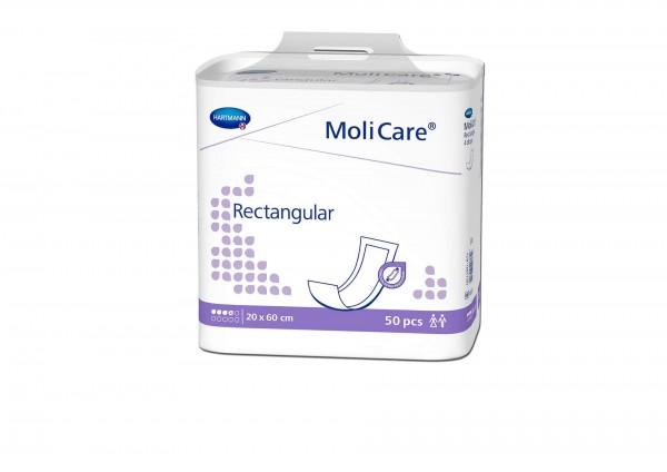 MoliCare Rectangular Rechteckvorlage 40x60 cm, 4 Tropfen, 50 Stück, Hartmann Inkontinenzvorlage