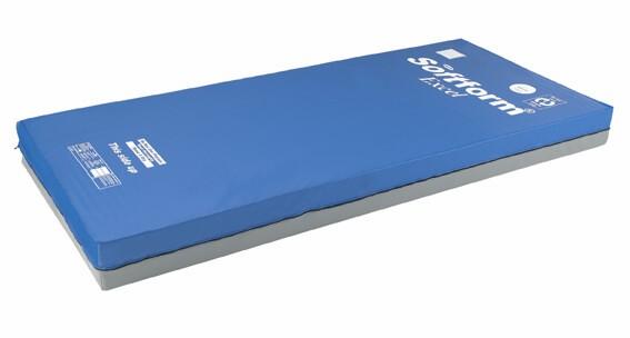 Invacare Softform Excel 90x200 mit Inkontinenzbezug, Anti-Dekubitus-Matratze bis Grad 3, bis 140 kg
