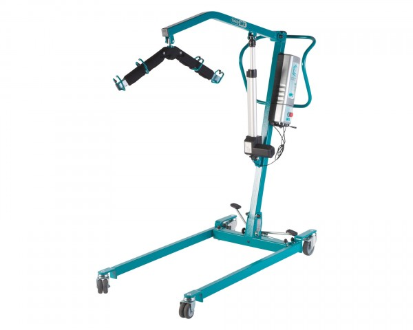 Mobiler Patientenlifter AKS foldy® mini, elektrisch, bis 150 kg belastbar